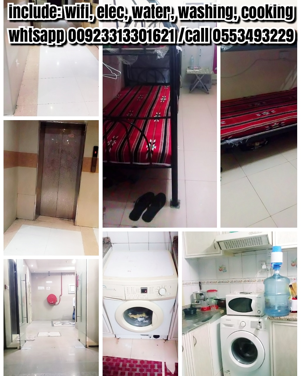 300 monthly bedspace in deira dubai