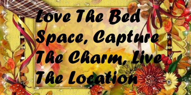 0 - Love The Bed Space, Capture The Charm, Live The Location
