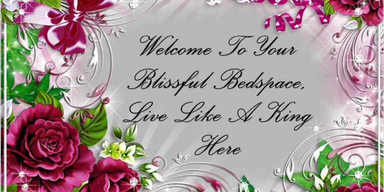 0 - Welcome To Your Blissful Bedspace, Live Like A King Here