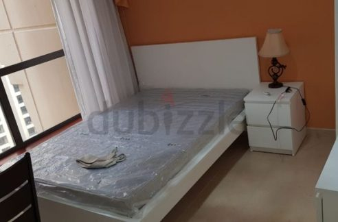 Furnished room with balcony available for rent