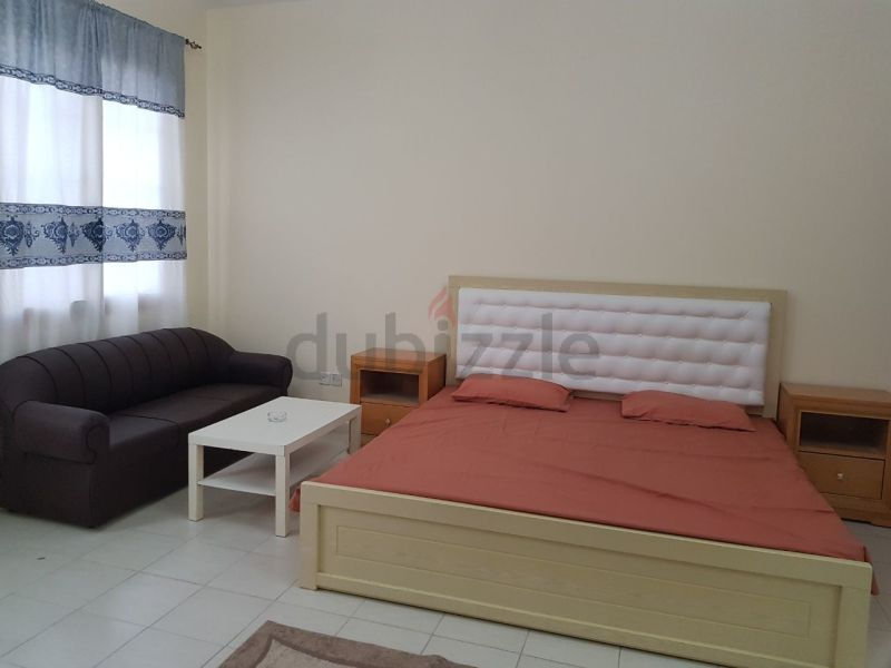 Vacation Deal Nice community Fully Furnished Studio For Rent in Spain Cluster Only On 2700/- AED