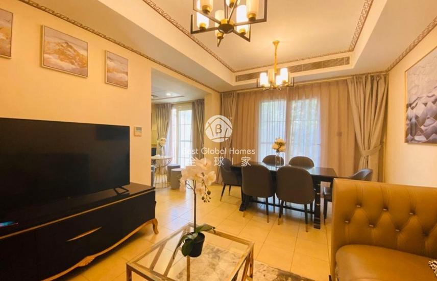 3Beds Townhouse  Furnished&Equiped;  Private Garden