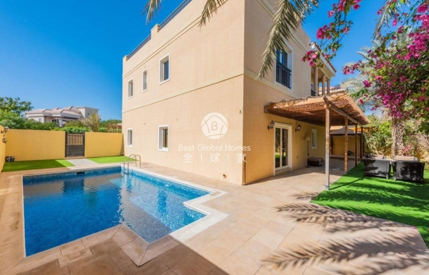 5+1 Family Villa |Furnished|Equiped|Pool&Garden;