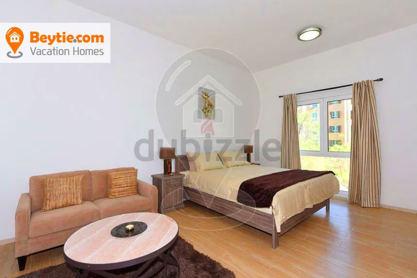 A Bright Fully Furnished Studio in MED48, Discovery Gardens