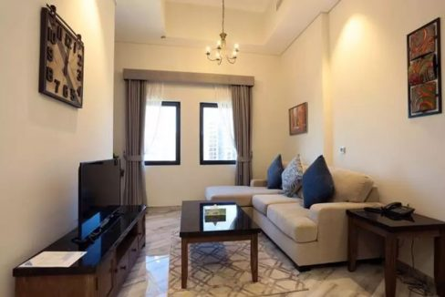 Fully Furnished 2 Bedrooms Apartment no commission