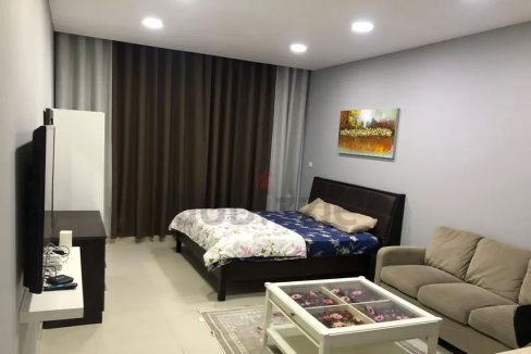 Pay Monthly 3500 aed    Fully Furnished Studio with Balcony